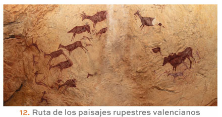 Ruta de los paisajes rupestres valencianos
