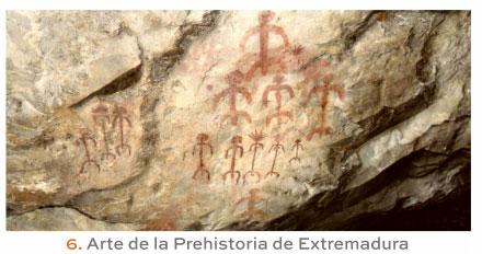 Arte de la Prehistoria de Extremadura