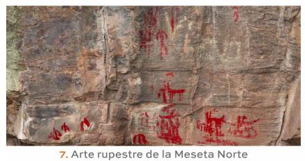 Arte Rupestre de la Meseta Norte