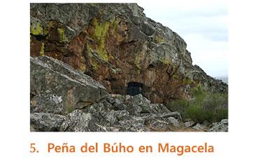 Peña del Búho en Magacela