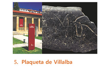Plaqueta de Villalba