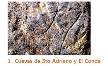 Cuevas de Santo Adriano y el Conde