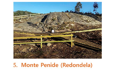Monte Penide en Redondela